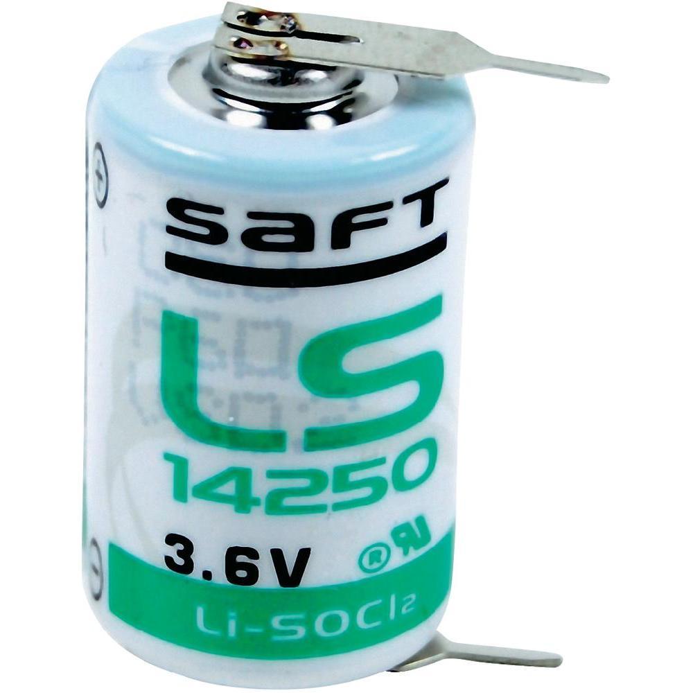 Saft Lithium batterij LS142502PF 1/2 AA (3,6V 1200mAh)