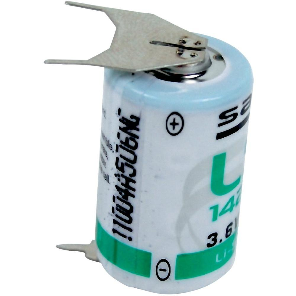 Saft Lithium batterij LS142503PF 1/2 AA (3,6V 1200mAh)