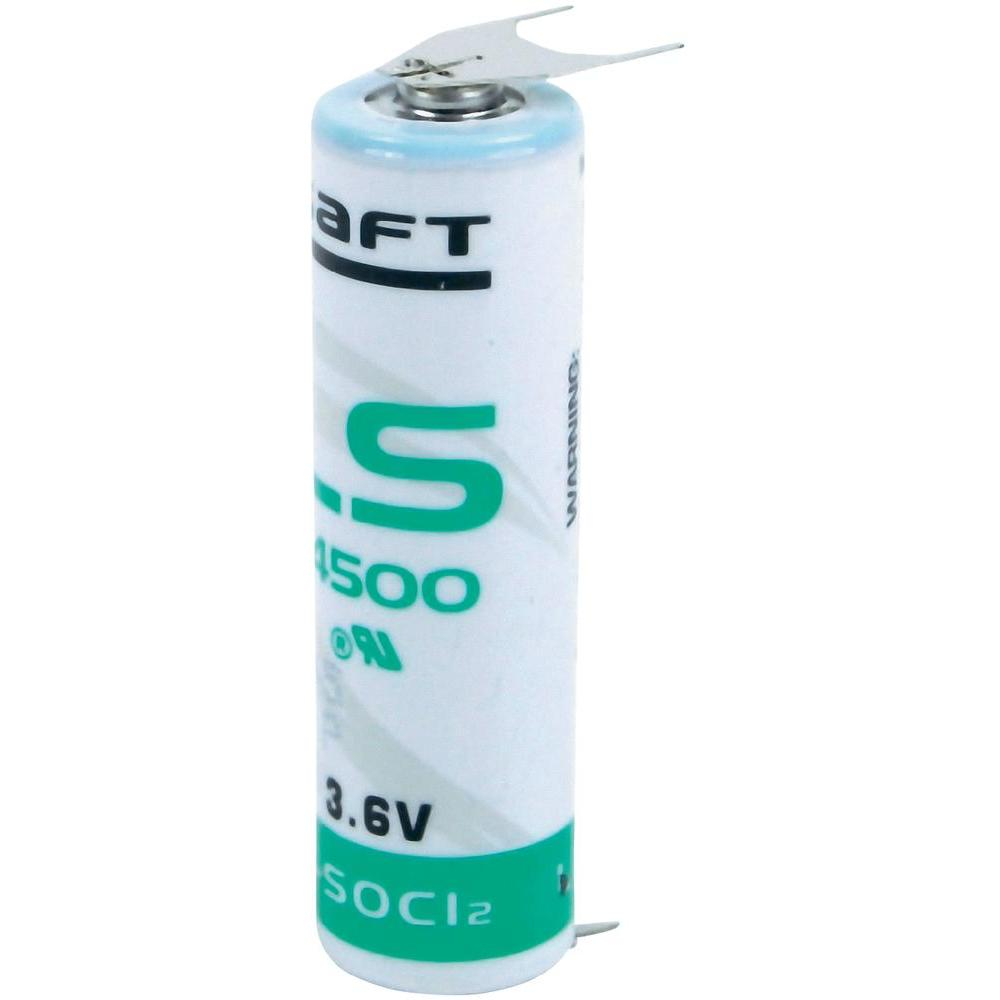 Saft Lithium batterij LS145003PF Penlite AA (3,6V 2600mAh)