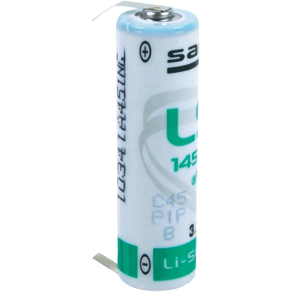 Saft Lithium batterij LS14500CLG Penlite AA (3,6V 2600mAh)