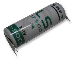 Saft Lithium batterij LS175003PFRP A (3,6V 3600mAh)