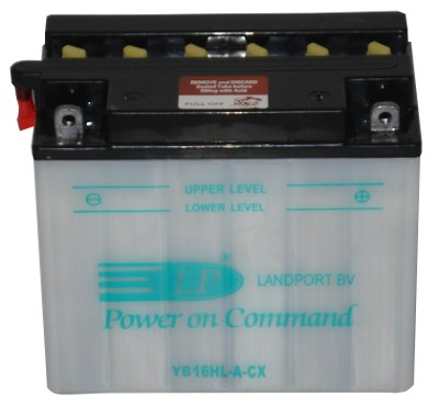 YB16HL-ACX/LM motor accu zonder zuurpakket