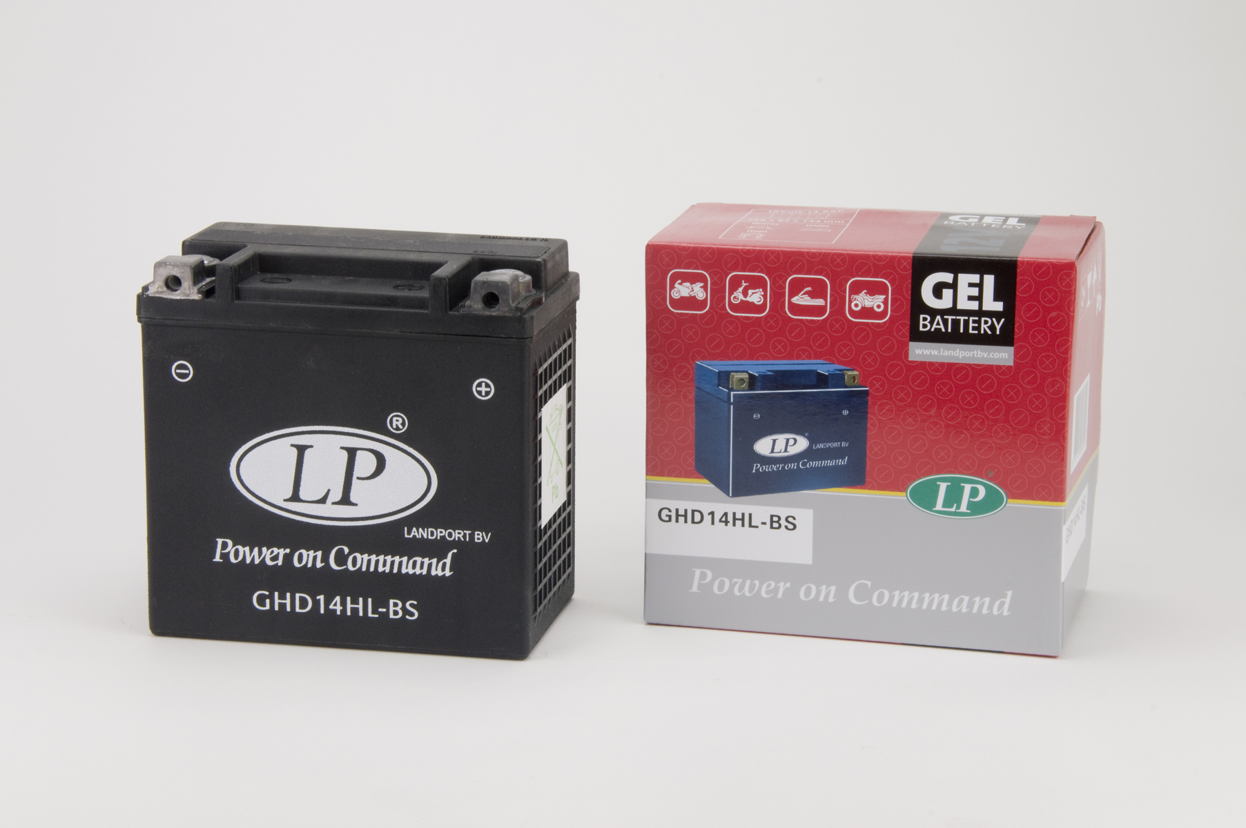 GHD14HL-BS motor accu Gel