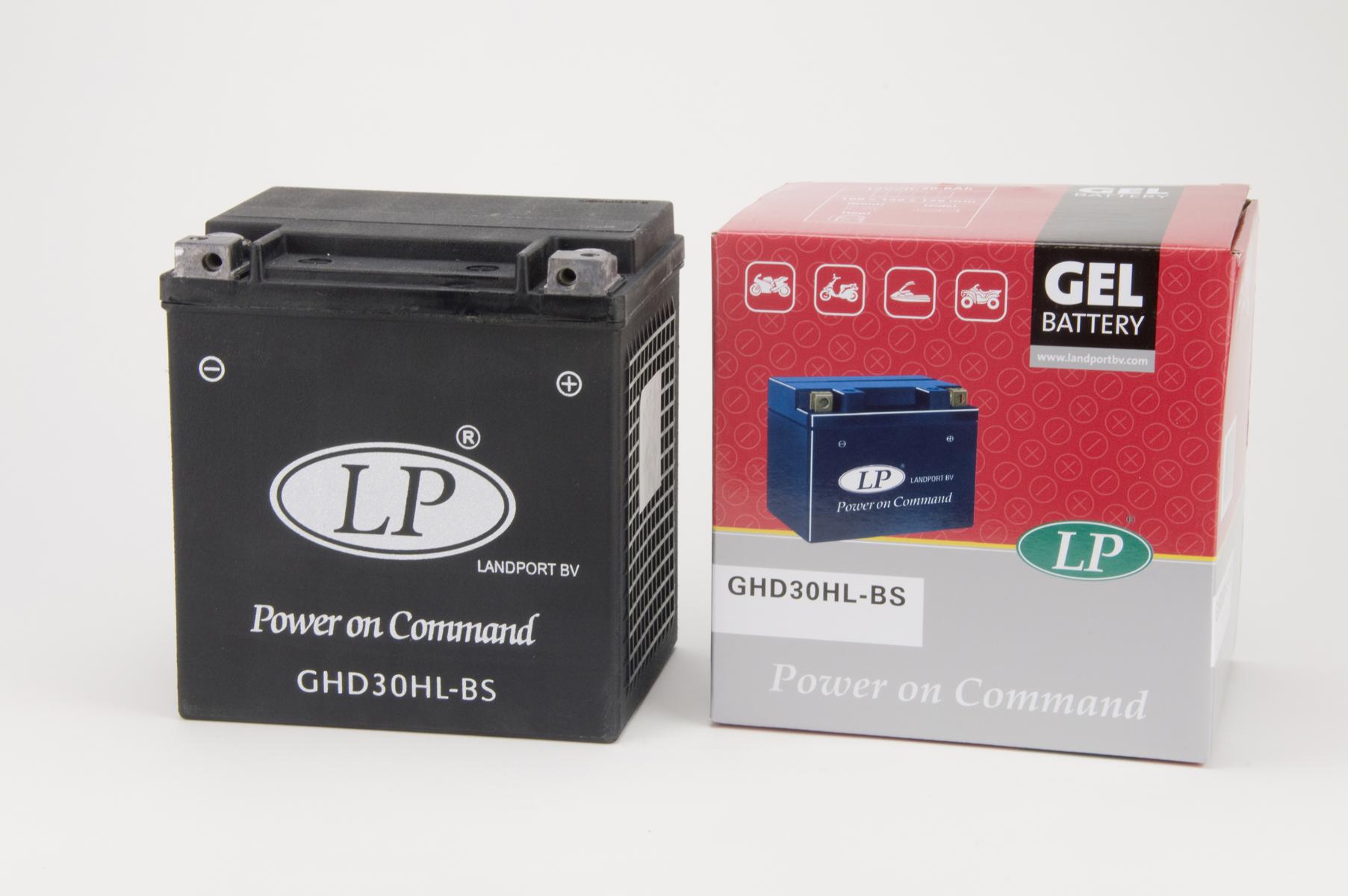 GHD30HL-BS motor accu Gel