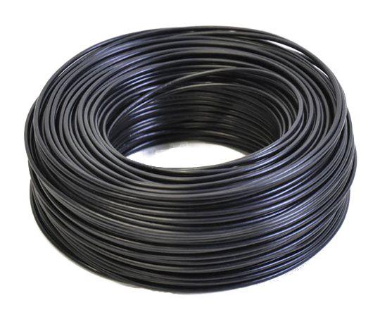 H05V-K Enkelader 1.0 mm2 zwart (100M)