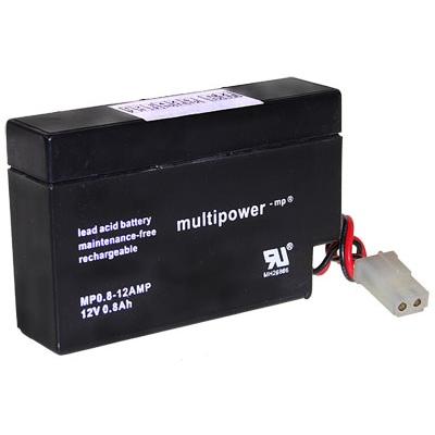 Multipower MP0.8-12AMP Loodaccu (12V 800mAh)