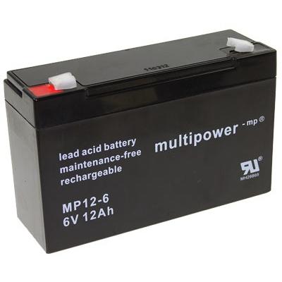 Multipower MP12-6 Loodaccu (6V 12000mAh)