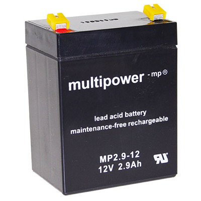 Multipower MP2.9-12 Loodaccu (12V 2900mAh)