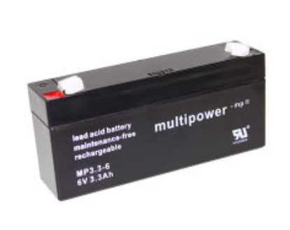 Multipower  MP3.3-6 Loodaccu (6V 3300mAh)