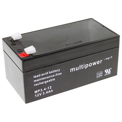 Multipower MP3.4-12 Loodaccu (12V 3400mAh)