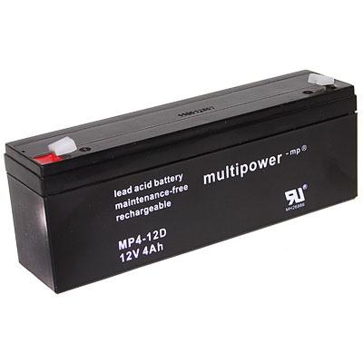 Multipower MP4-12D Loodaccu (12V 4000mAh)