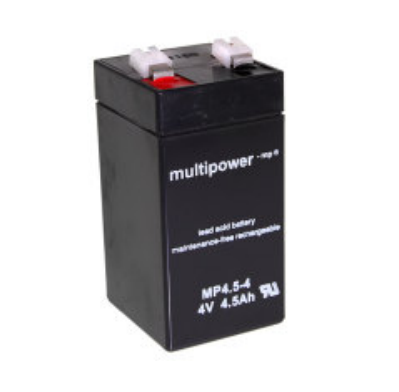 Multipower  MP4.5-4 Loodaccu (4V 4500mAh)