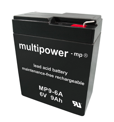 Multipower  MP9-6A Loodaccu (6V 9000mAh)