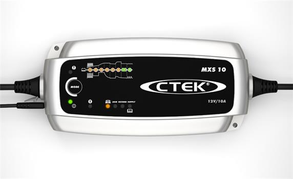 CTEK  MXS 10 loodaccu lader 12V 10A
