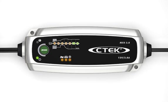 CTEK MXS 3.8 loodaccu lader 12V 3.8A