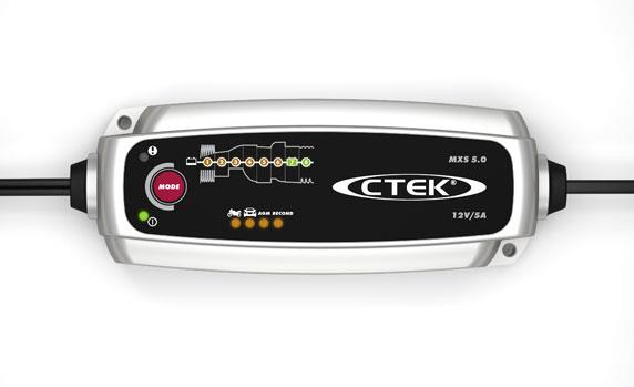 CTEK MXS 5.0 loodaccu lader 12V 5A