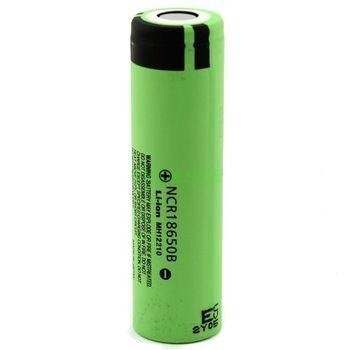 Panasonic NCR18650B Li-Ion 3,7V 3400mAh oplaadbare 18650 batterij
