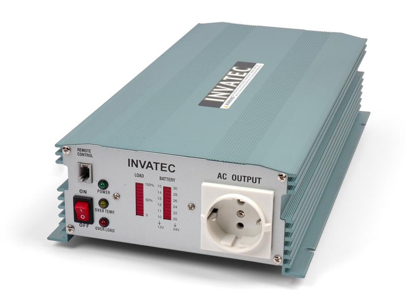 Invatec PM-1800 Omvormer 1800W 12V