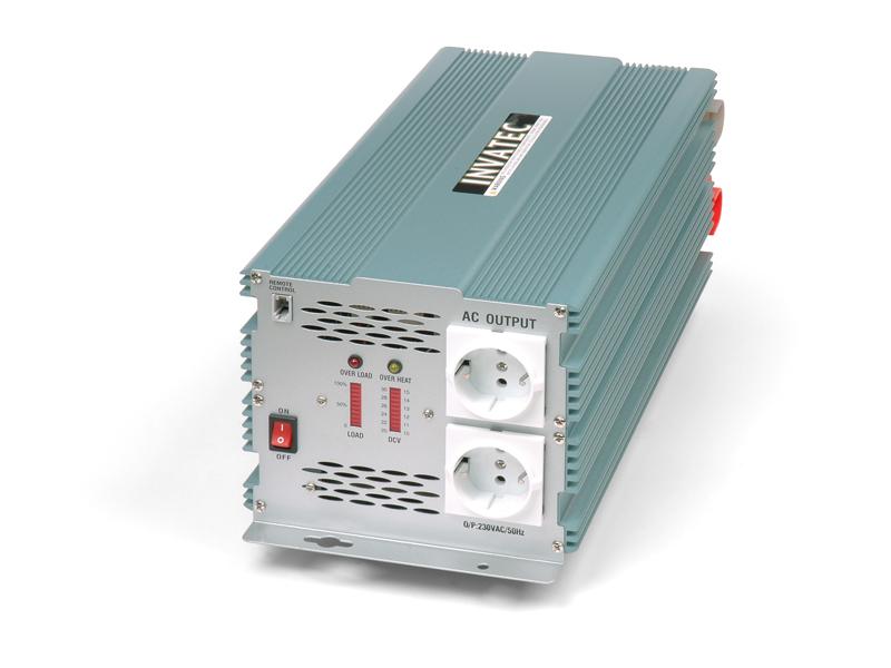 Invatec PM-2500 Omvormer 2500W 12V