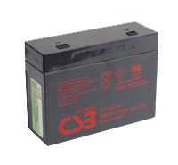 RBC10 UPS noodstroom accu vervangingsset van CSB Battery