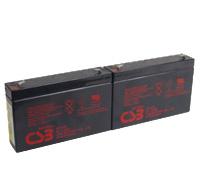 RBC18 UPS noodstroom accu vervangingsset van CSB Battery