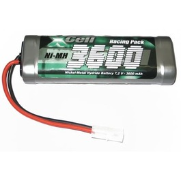 Racing Pack 7.2V 3600mAh