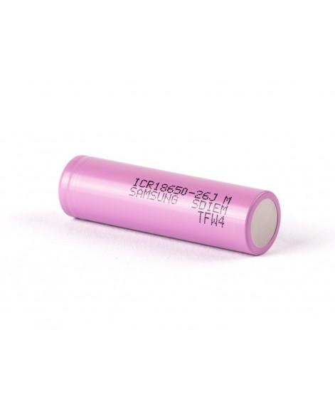 Samsung ICR18650-26JM Li-Ion 3,6V 2600mAh oplaadbare 18650 batterij