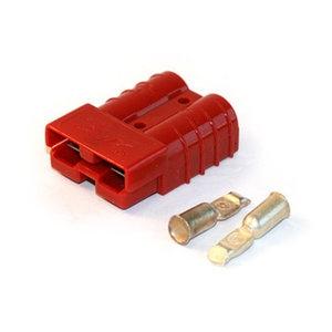 Anderson connector Rood 50A 600V SB50, SC50, SH50, BMC2S