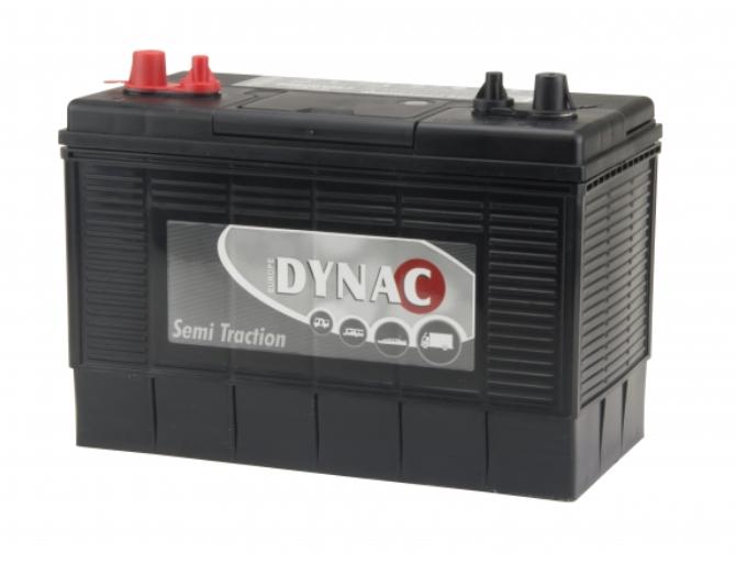Dynac Semi tractie accu 12V 102Ah 31DC onderhoudsvrij