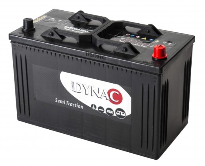 Dynac semi tractie accu 12V 105ah 95804 SMF onderhoudsvrij