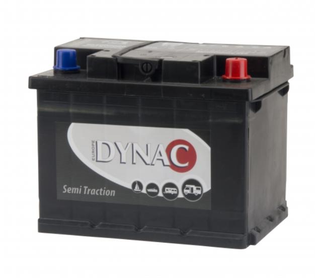 Dynac semi tractie accu 12V 60Ah 95502 SMF onderhoudsvrij