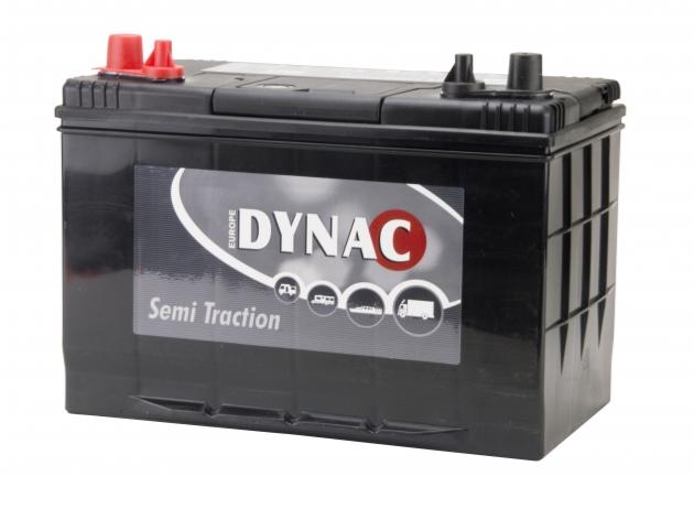 Dynac semi tractie accu 12V 90ah 27DC onderhoudsvrij