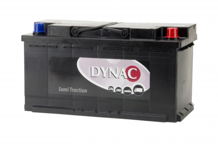 Dynac semi tractie accu 12V 90ah 95752 SMF onderhoudsvrij