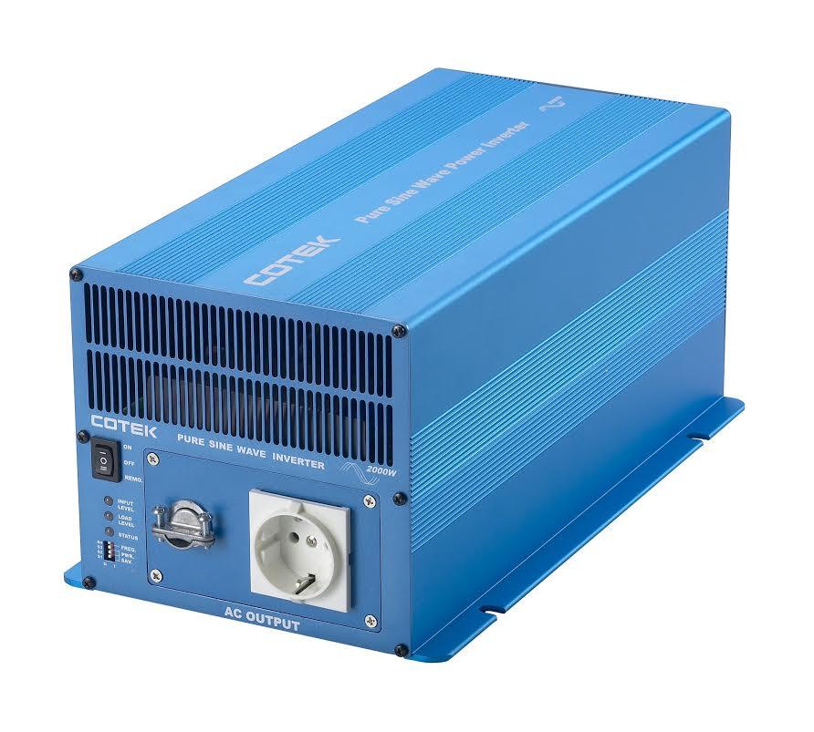 Professionele Cotek Zuivere Sinus Omvormer 12V - 3000W