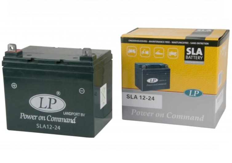 SLA 12-24 motor accu Landport 12V 24Ah