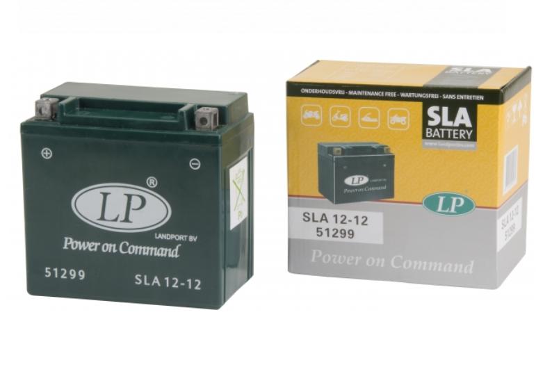 SLA 12-12 motor accu Landport