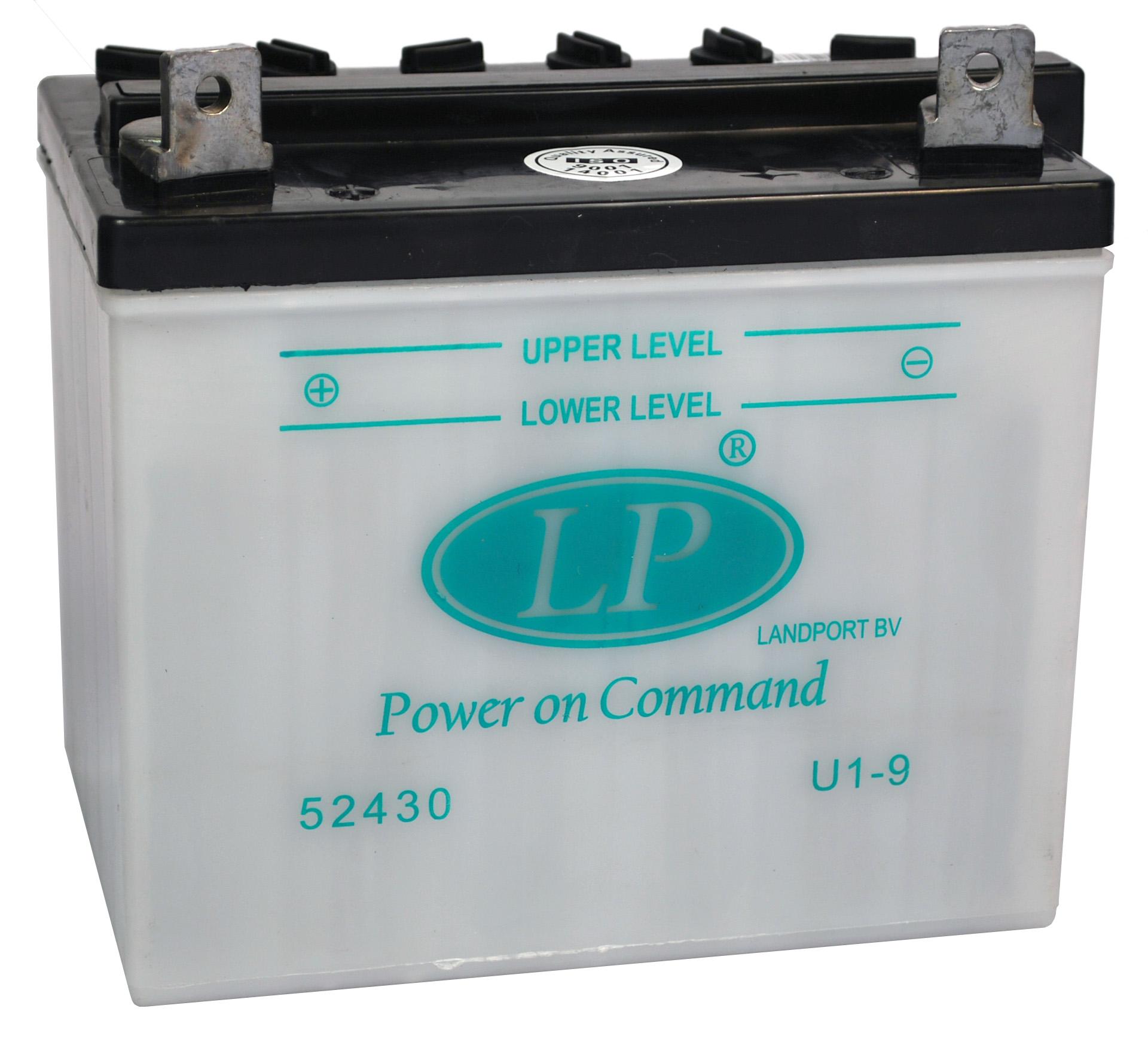U1-9 motor accu zonder zuurpakket
