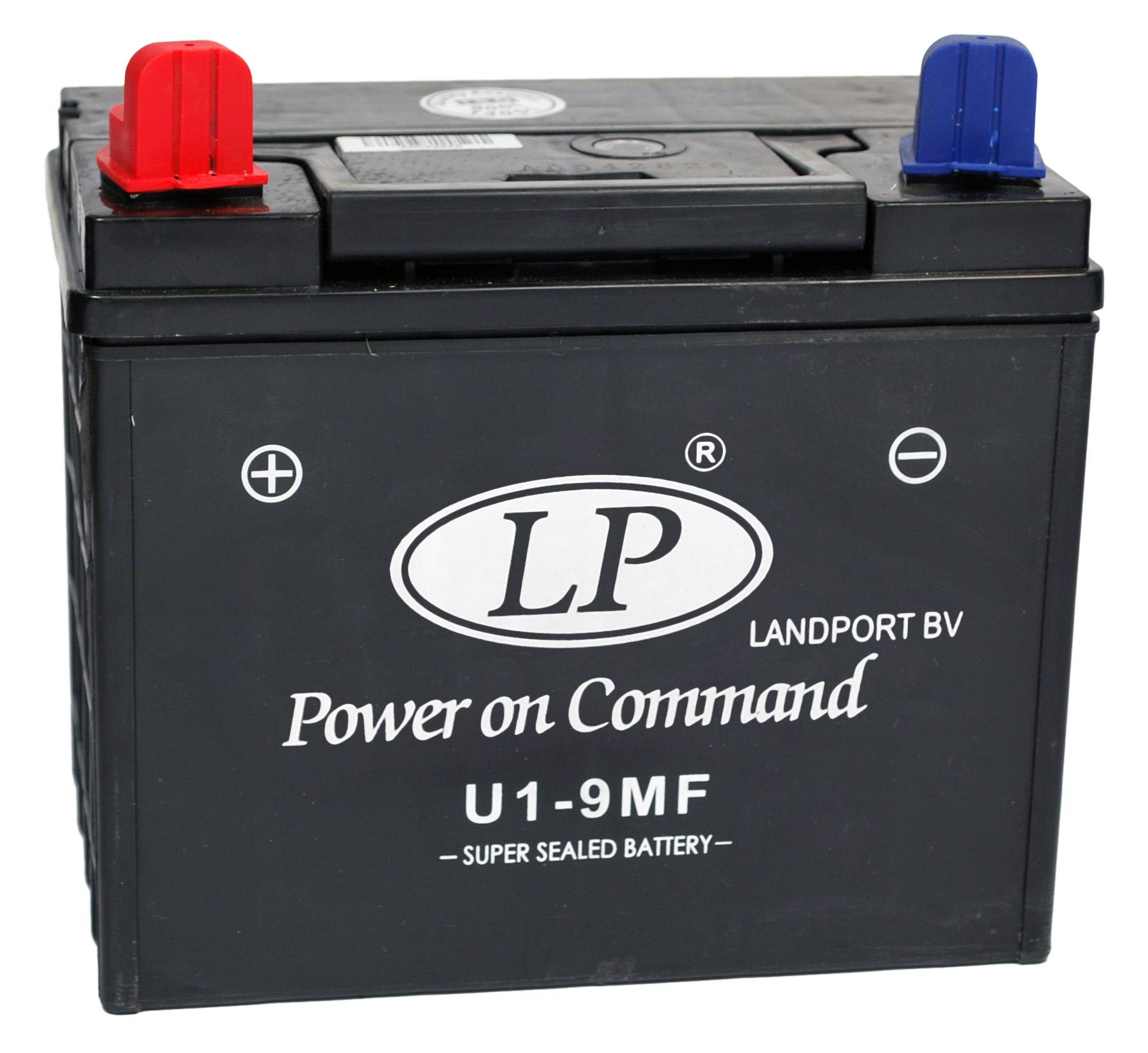 U1-9 motor accu Sealed