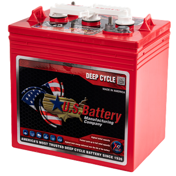 U.S. Battery Deep Cycle Accu 6V 220Ah US 2000