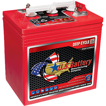 U.S. Battery Deep Cycle Accu 6V 242Ah DC US 125