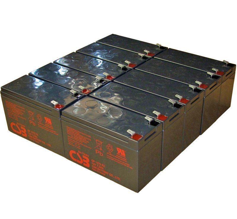 UPS vervangings batterij 10 x GP1272F2 CSB Battery