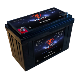 Voltium Energy LiFePO4 accu 12,8V 20Ah met APP