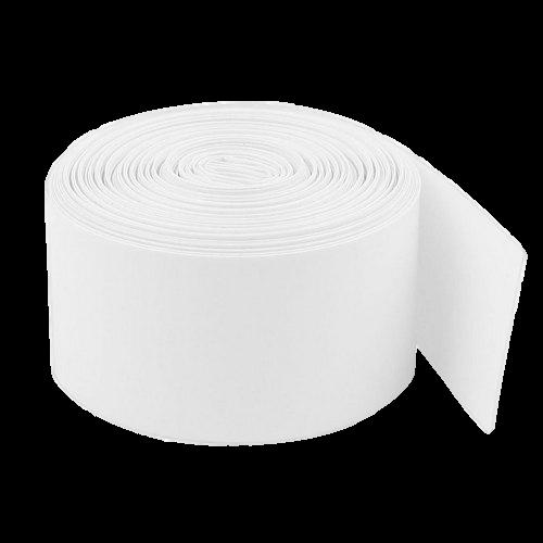 Witte Krimpkous isolatie 100 x 0,10mm