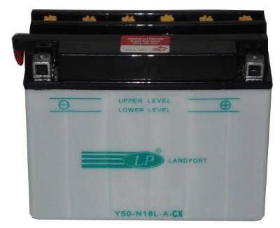 Y50N18LA-CX/LM motor accu met zuurpakket