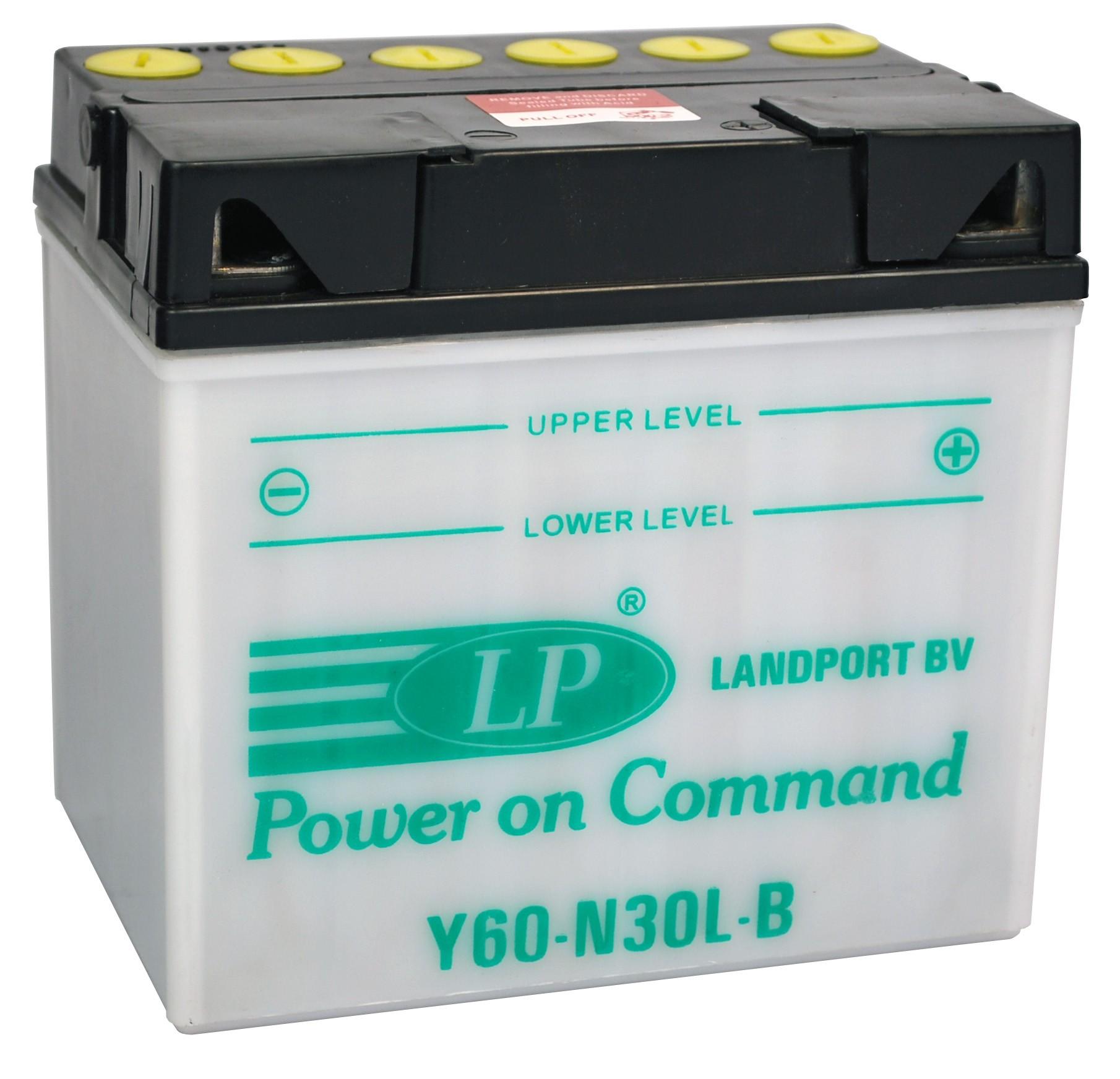 Y60-N30L-B motor accu zonder zuurpakket