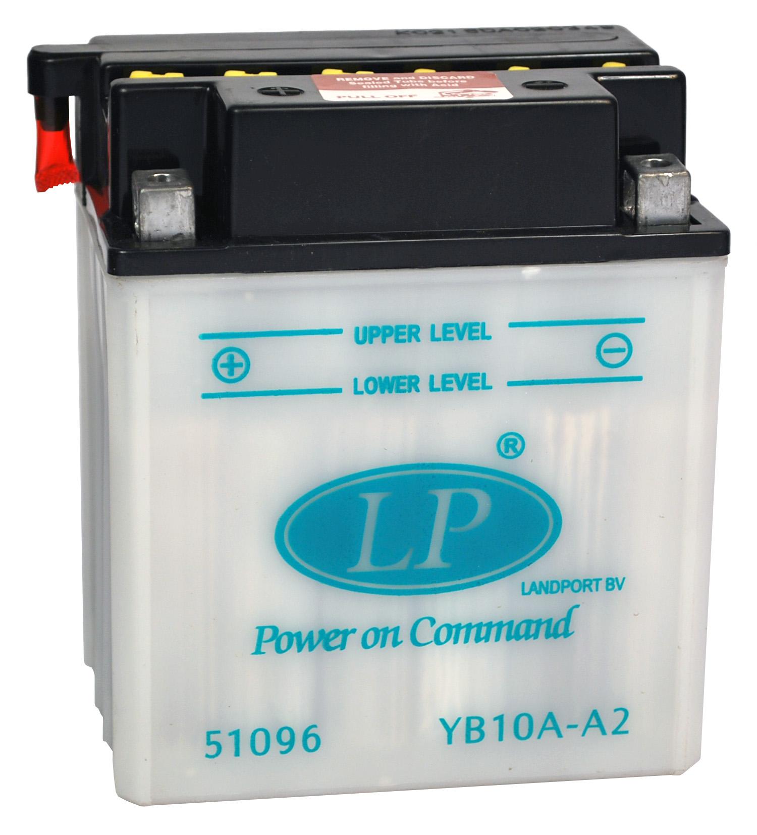 YB10A-A2 motor accu zonder zuurpakket