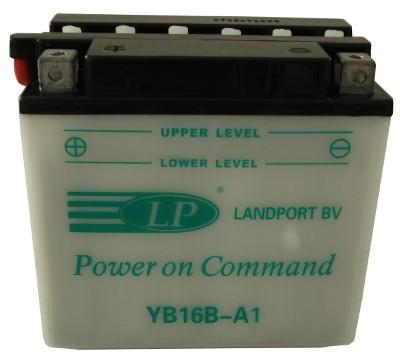 YB16B-A1 motor accu met zuurpakket