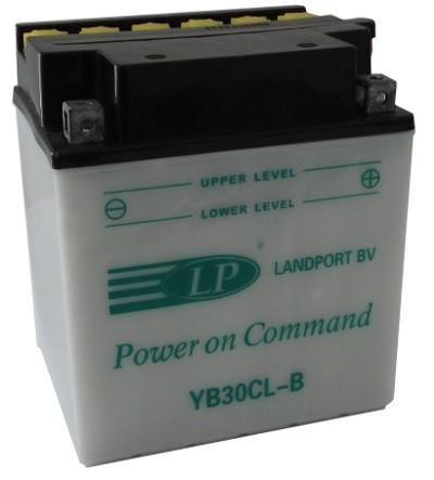 YB30CL-B motor accu zonder zuurpakket