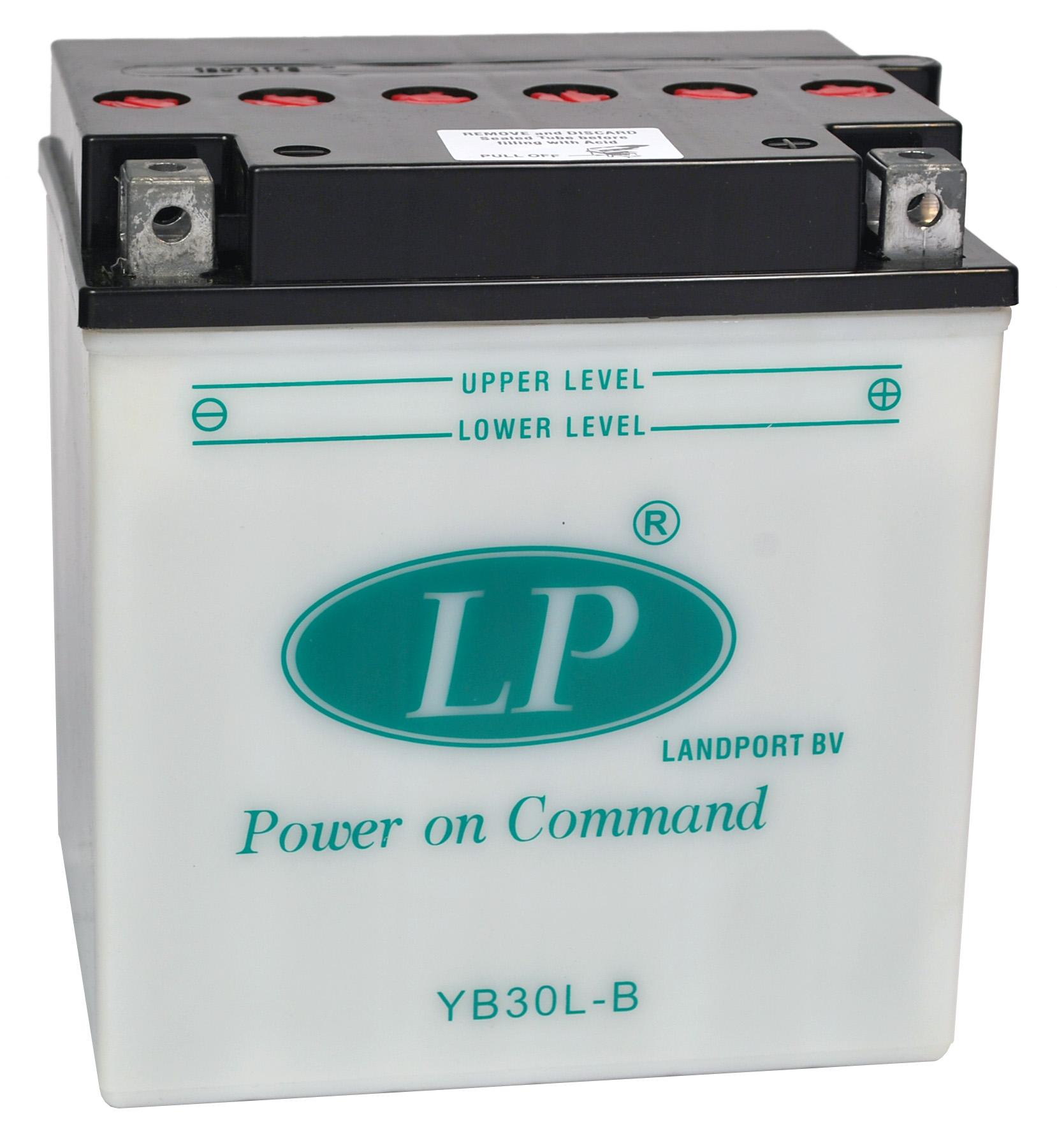 YB30L-B motor accu zonder zuurpakket