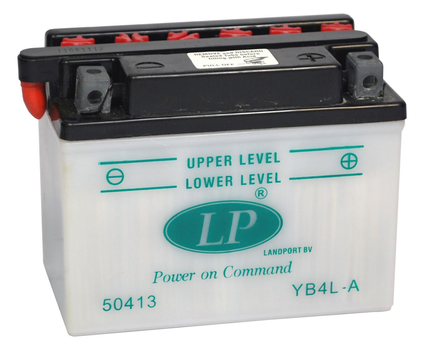 YB4L-A motor accu zonder zuurpakket